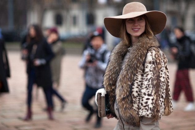 street-style-2013-2014-fall-winter-fashion-week-leopard-print-fur-jacket-coat-style-fashion-style-anya-ziourova-milan